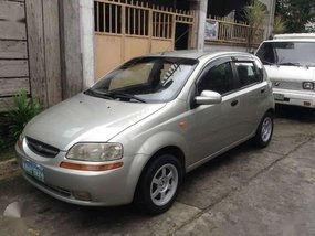 Chevrolet Aveo 2005 AT hatch FOR SALE