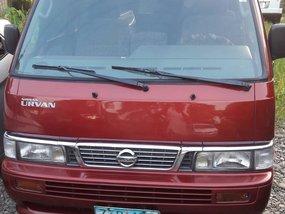 Nissan Urvan Escapade manual diesel 2009