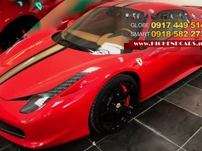 2015 FERRARI 458 SPIDER FOR SALE
