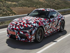 The debut of the Toyota Supra 2019/2020 will be in January 2019