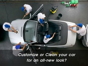 Refresh for the New Year: Customize or Clean your Car for an all-new look?