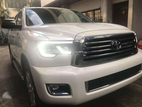 2018 Toyota Sequoia Platinum Gas Automatic