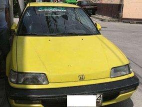 Isotope Green Honda Civic Hatchback 1991