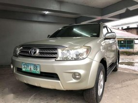 Toyota Fortuner G 2010 for sale
