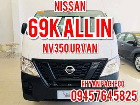 Nissan Nv350 Urvan 15 Seater MT 2018 for sale
