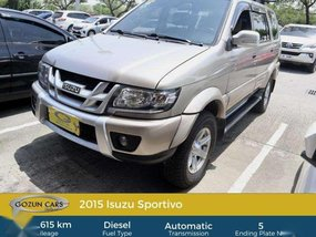 2015 Isuzu Sportivo for sale