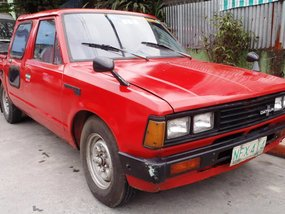1981 Nissan Datsun Double Cab Pick up Diesel php88,000 Only