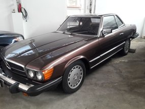 Sell Used 1984 Mercedes-Benz Sl-Class at 64872 km in Quezon City