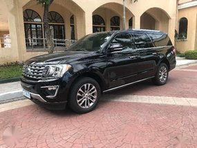 2018 Ford Expedition El with Bucket seats 1tkms only