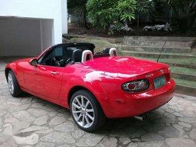 Mazda Mx-5, red 2008 model  FOR SALE