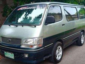 Toyota Hiace 1999 model 2.0 gasoline All power