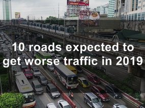 10 roads expected to get worse traffic in Metro Manila this 2019