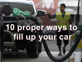 Driving smart: 10 proper ways to fill up your car