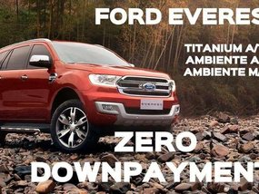 2018 Ford Everest Ambiente Trend and Titanium
