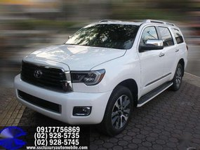 2018 Brand NEW! TOYOTA SEQUOIA (White)