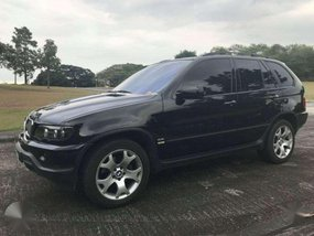 Black BMW X5 2002 Model 4.4i Engine