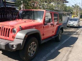 Jeep Rubicon 2014 Only city driving Fresh in & out