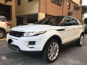 2015 Land Rover Range Rover Evoque SD4 Automatic Transmission