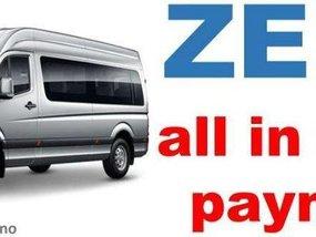 2019 FOTON van at zero down payment!
