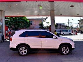 White 2013 Kia Sorento Manual Diesel for sale