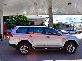 Silver 2013 Mitsubishi Montero Sport at 40000 km for sale