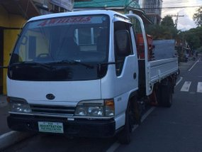 2018 ISUZU ELF boomtruck with powergate