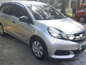 Selling 2nd Hand Silver Honda Mobilio 2015