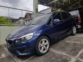 BMW touring 218i 2015 low mileage 10k Casa maintained blue