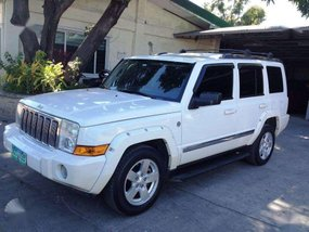 Jeep Commander 2008 mdl Stone white