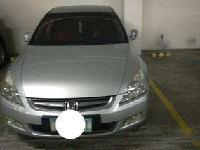 Honda Accord silver 2003 FOR SALE