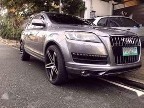 2012 series Audi Q7 Quattro Diesel local