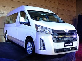Toyota Hiace 2019 officially makes its global debut in the Philippines