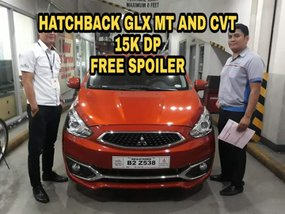 2018 MITSUBISHI Mirage hatchback glx 20k dp allin no hidden charges free Spoiler