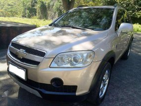 CHEVROLET CAPTIVA 2009 crdi turbo diesel