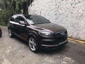 Audi Q7 S-line 2013 3.0 L Turbo Diesel FOR SALE