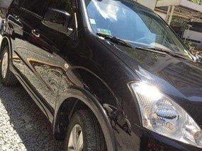 2012 model Mitsubishi Fuzion sports (black color)