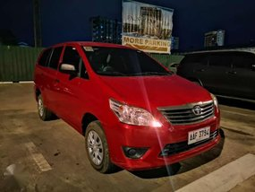 2014 Toyota Innova J Gasoline MANUAL TRANSMISSION