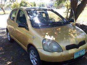 2002 Toyota Echo 1.3 vvti registered