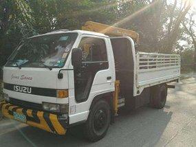 Isuzu Elf boom truck 1998 for sale