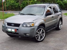 2006 FORD ESCAPE fully paid