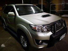 2014 Toyota Fortuner V 4x4 3.0 50k mileage