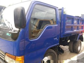 1997 Isuzu Elf Mini Dump 4x2 High Deck, High Side Blue