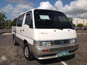 Nissan Urvan Escapade Van 2013 model Diesel Lucena City