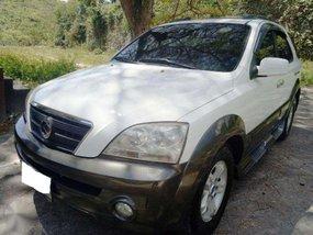 KIA SORENTO 2006 EX crdi turbo 4x4 cebu unit