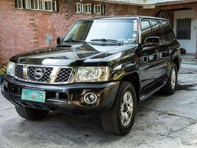 NISSAN Patrol 2009 BLACK A-T 4x4 for sale