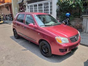 Suzuki Alto k10 2012  Manual transmission