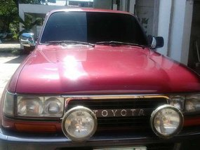Toyota Land Cruiser 4wd MT Gas 1990 for sale
