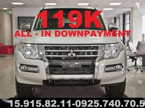 2018 Mitsubishi Pajero at 119k All in dp LIMITED UNIT