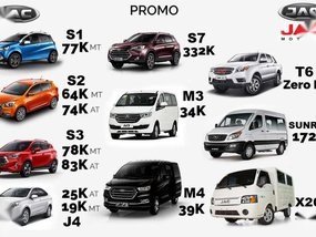 JAC Motors March Promo All in DP 2019