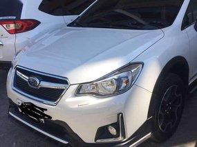 2017 Subaru XV Pearl White Automatic Transmission